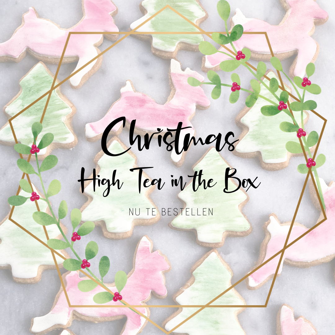 Christmas high tea in the box